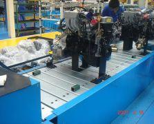 发动机链板组装